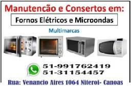 Conserto de Microondas e Forno Eletrico Multimarcas
