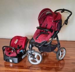 Carrinho de bebê + Bebê Conforto (oportunidade)