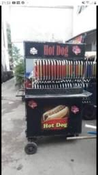 Barraquinha de cachorro quente