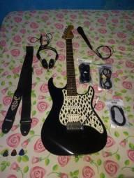 Guitarra MG37ss / Caixa / Acessórios