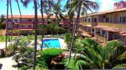 Lindo apartamento em condomínio fechado com piscina na Barra de São Miguel/AL