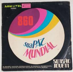 LP Vinil Sua Paz Mundial 1973