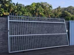 Portão de alumínio FRETE GRATIS REGIÃO