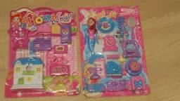 Diversos brinquedos.