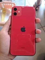 Iphone 11 red 64gb 1 mes de uso!