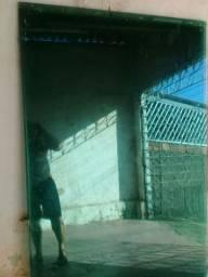 Porta de vidro de cor erde de corre tamanho (2.20 por2.40)