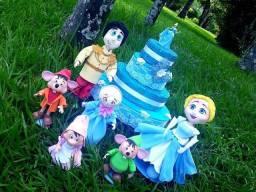 Alugo decoração de aniversário cinderela