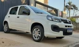 Fiat / Uno Atractive 1.0 8v Flex, Completo 2019, Baixo Km, Selado