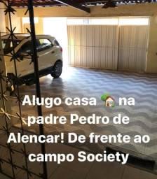 Alugo Casa padre Pedro de Alencar Messejana de frente restaurante Nitch Camarão