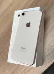 iPhone 8 64Gb Dourado (Semi-Novo) Loja física