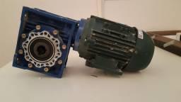 Motoredutor com motor 0,5 cv - um mês de uso