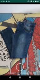 Calça jeans infantil Tam. 10
