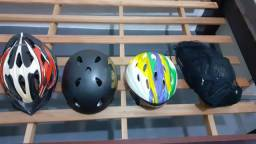 Capacete bike e skate