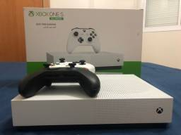 Xbox one s novo com super conta inclusa