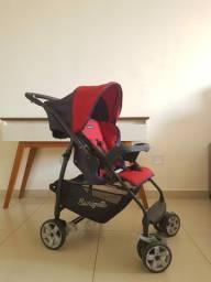 Carrinho e bebê conforto Rio K Burigotto
