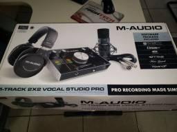 Kit Gravação M Áudio