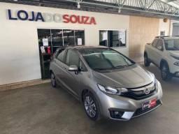 Honda Fit Ex Cvt 1.5, completo, Único dono, Revisões na concessionária