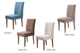 Cadeiras Para Sala de Jantar em até 10X no catão de crédito