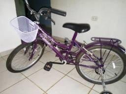 Bicicleta para criança(feiminina)