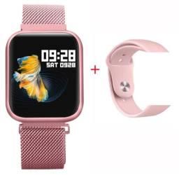 P80 relógio inteligente smartwatch ip68 frete grátis