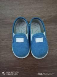 Sapato jeans azul Pimpolho número 19