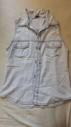 Blusa Bruna jeans Tam P