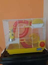 Gaiola Hamster Tubos Divertidos 3 Andares Bragança - Valor Negociável - Araraquara-SP