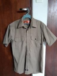 Camisa Dickies Caqui Original - Tam P