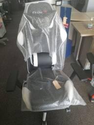 Cadeira Gamer nova temos cores vermelha ou branco