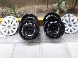 Calotas e rodas originais VW