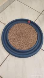 Arranhador gato redondo com bolinha