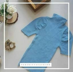 Blusa em tricô modal