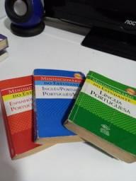 Combo de dicionários (português, inglês e espanhol)