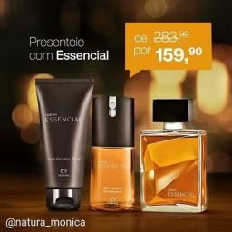 Kit perfume essencial masculino