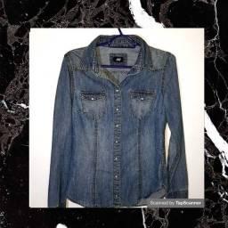 Jaqueta jeans feminina &M