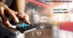 Sms e WhatsApp em massa