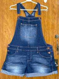 Jardineira jeans G