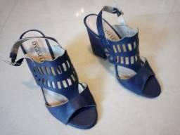 Calçado femenino.