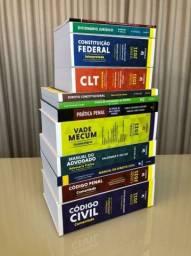 Vende-se livros de direito pot unidade,ano 2020