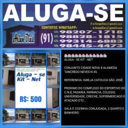 Título do anúncio: ALUGA-SE KIT NET NO C.N.8 ALAMEDA TRANCREDO NEVES  N 45