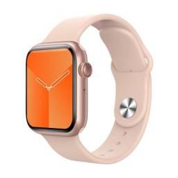Novo relógio inteligente 2021 ROSA muda de tela, polegada de 1.75, 44mm botão giratório