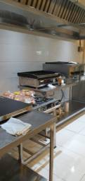 Cozinha industrial profissional