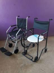 Título do anúncio: Cadeira de rodas e de banho