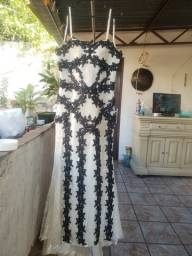 Vestido de festa, usado 1 vez. 300reais