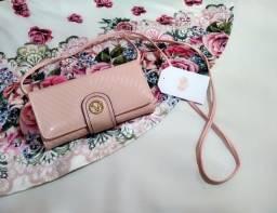Bolsa 2 em 1 rosé - R$ 45