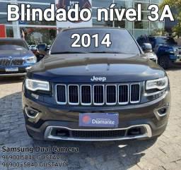 Jeep Cherokee 2014 Blindado Nível 3A baixa Km Oportunidade