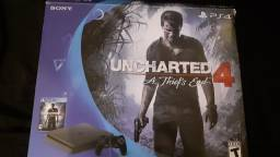 Playstation 4 slim com jogos