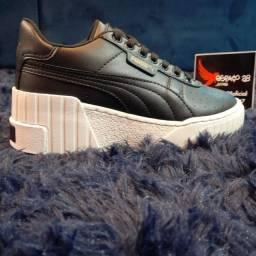 Título do anúncio: Tênis Puma plataforma exclusivo preto lançamento