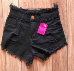 Shorts jeans feminino
