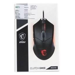 Mouse Gamer MSI Clutch 4200DPI Preto
